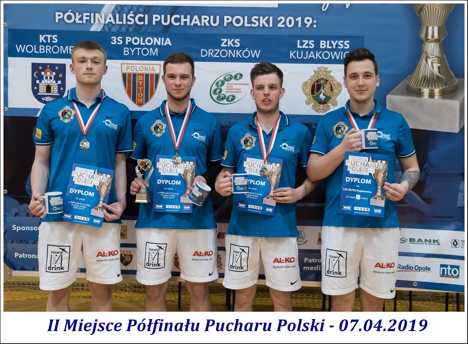 Półfinał Pucharu Polski PZTS