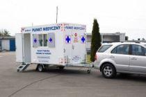 Mobilna Komora Medyczna do Bezkontaktowego Badania Pacjenta i Poboru Próbek
