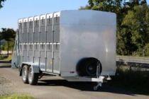 VT2743 BLYSS Przyczepa do transportu zwierząt